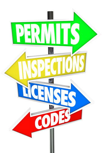 construction bureaucracy: permits, inspections, licenses, and codes