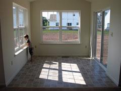 new sunroom
